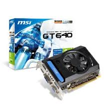 MSI NVIDIA GeForce GT 640 Series chipset