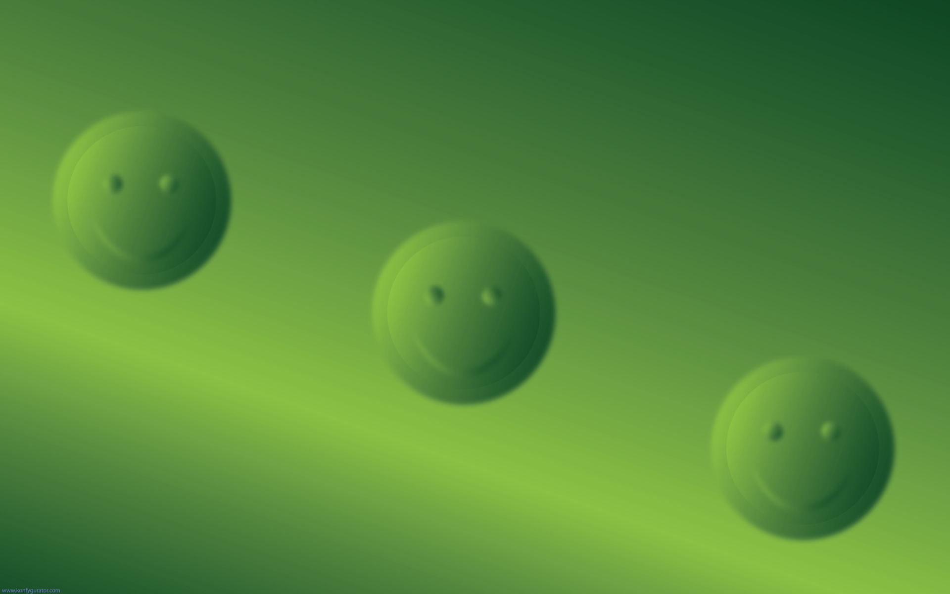 HD Wallpapers - 3D & Abstract - smiley, blur, three