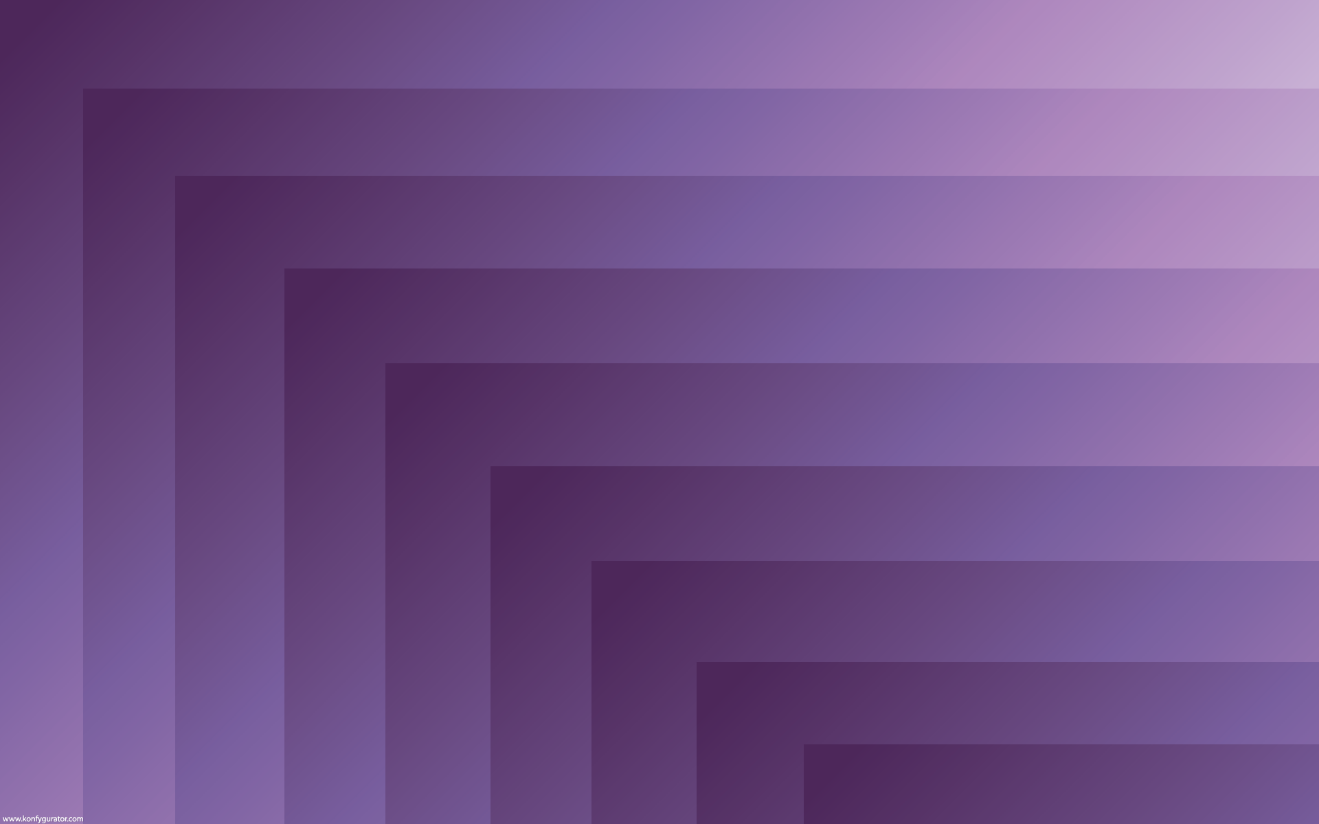 HD Wallpapers - 3D & Abstract - tunnel, perspective, purple
