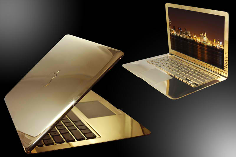MacBook Pro 24 Karat Gold ($30,000)