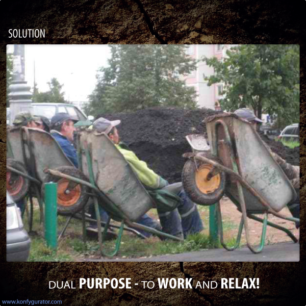 Funny pictures - dual purpose - to work and relax