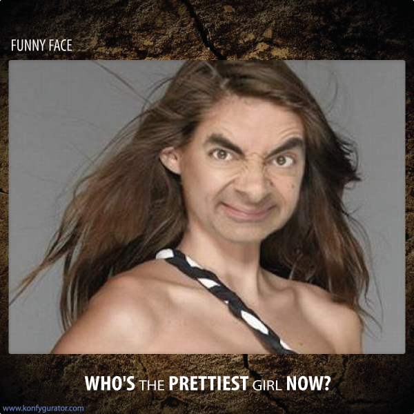 Funny Face - who's the pretties girl now?